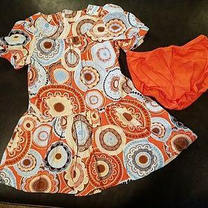 NWOT Gap Baby Girls Dress 2 Piece Set - 2T